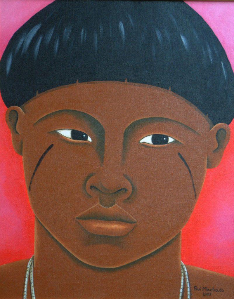 2003 - Caras Yanomami por Rui Machado