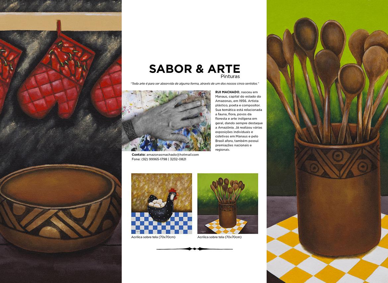 Série : Sabor & Arte