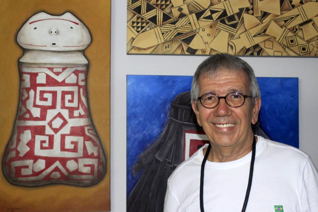 Exposição do artista amazonense reunirá obras e objetos pessoais de Rui Machado — Foto: Arquivo Pessoal
