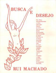 Poema Postal - Busca e Desejo - Rui Machado