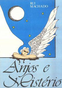 Livro de Poesias Anjos e Mistério - Rui Machado