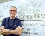 Convidado do Amazonia Press no Ar, Rui Machado conta sua trajetória como artista / Foto: Francisco Araújo