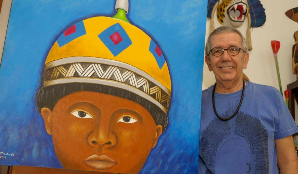 """Vernissage da Exposição """"Amazônia: Arte & Fatos"""", de Rui Machado, acontece nesta sexta-feira (25)"""